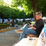 Dibujando en Plaza Elvira